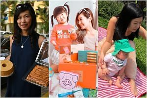 (From left) Mrs Heng Pin Pin, 50, Ms Cindy Tan, 40, and Ms Gayle Tan, 33.