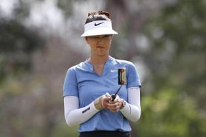 Michelle Wie confirmed she had been affected by a recurrence of the injury to her right wrist as she attempted to play through the first round at the Sentosa Golf Club's New Tanjong Course.