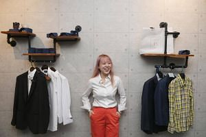 Sheryl Yeo is the founder of 3Eighth, a custom garment label run out of a 800 sq ft shop space in Circular Road.