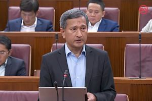 Foreign Minister Vivian Balakrishnan added that regional stability and security are being threatened by the rise in identity politics closer to home.