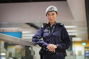 Sergeant Siti Zuraily Zainal has been in the Volunteer Special Constabulary scheme for two years. She patrols public transport nodes for eight hours once a week as part of the Public Transport Security Command.