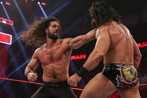 WWE superstars Seth Rollins (left) and Drew McIntyre are expected to be at WWE Singapore on June 27.