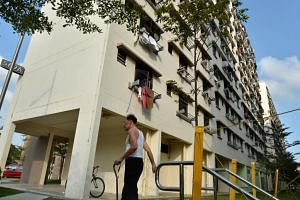 One-room rental flats in Champions Way, off Woodlands Avenue 1. Senior Parliamentary Secretary for National Development Sun Xueling said home ownership is central to providing stability and progress for families in the long run.