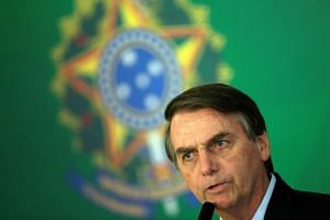 Bolsonaro's (above) tweet was intended to draw outrage at how vulgar the holiday has become, but ignited a firestorm from critics.