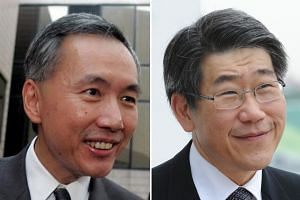 Making Forbes' latest list of the world's richest are (from left) Singapore real estate billionaires Robert Ng and Philip Ng of Far East Organization; paint tycoon Goh Cheng Liang; United Overseas Bank chairman emeritus Wee Cho Yaw; and Valencia foot