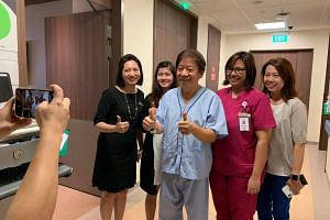 Transport Minister Khaw Boon Wan had been warded in Singapore General Hospital and underwent surgery on March 1, 2019.