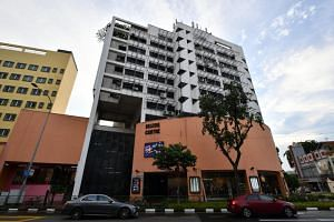 The 30-year-old Selegie Centre is a mixed development of 33 shops and 25 apartments.
