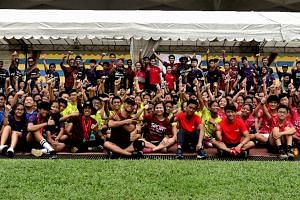 Over nine days, 138 youth from Singapore and 16 other Asian countries and territories will take part in activities centering on important values and build on valuable life skills.