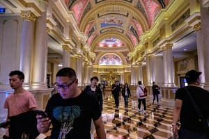 Macau's fortunes depend almost solely on its gambling industry, which in a single week rakes in more gaming revenue than Las Vegas makes in a month.