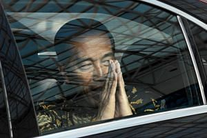 President Joko Widodo appears to be enjoying an advantage as the incumbent in this election, with several recent surveys showing him likely to win about 55 per cent of the vote.