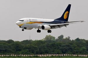 Jet Airways, India's second-largest carrier, is grappling with debt of more than US$1 billion, resulting in lessors forcing more than three dozen planes to be grounded and hundreds of flights cancelled.