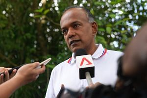 """Minister for Law and Home Affairs K. Shanmugam said that beyond having leaders speaking publicly to condemn the attacks and stepping up security, societies have to """"face squarely the reality that Islamophobia is rising""""."""