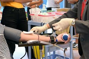 The affected database contained the names, NRIC numbers, gender and number of donations of people who have donated or registered to donate blood in Singapore since 1986.