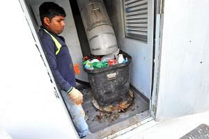 Each HDB household currently pays $8.25 a month for waste regardless of the amount thrown away.