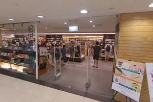 The outlet, which opened at Liang Court in River Valley Road in 1983, was the bookstore chain's first branch in an Asian country outside Japan.