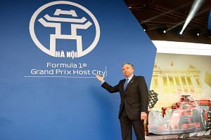 FIA president Jean Todt at the ground-breaking ceremony for the 2020 Vietnam Grand Prix in Hanoi on March 20, 2019.