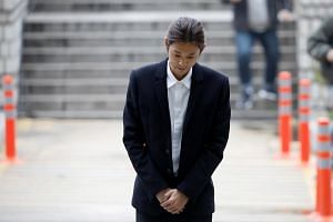 "Jung Joon-young turned up for a hearing on March 21 and said: ""I am truly sorry. I admit to all charges against me."""