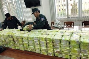 Around 300kg of methamphetamine was seized by Vietnamese police during the operation in Ho Chi Minh City.