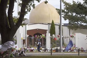 Al Noor Mosque, one of two mosques in Christchurch, New Zealand, where a white supremacist killed 50 worshippers in a shooting spree earlier this month. The writer says while the white supremacist movement and radical Islam have similar traits, they