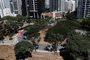 Speed regulating strips will be installed at two sections of a roundabout in Marine Parade, which was the site of a fatal accident on March 18, 2019.
