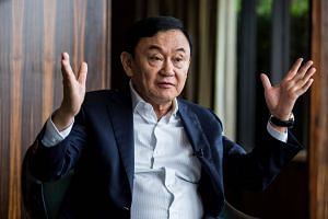 Former Thailand prime minister Thaksin Shinawatra said that he was not sure the new government would be stable and sustainable for a full term.