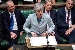 British Prime Minister Theresa May refused to give up on her deal passing this week, noting that the alternatives were unpalatable to her and that there was no evidence of a majority in parliament for anything except the principle of avoiding an abru