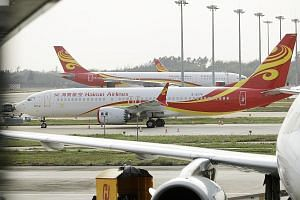 A Hainan Airlines Boeing 737 Max 8 at Haikou Meilan International Airport in China's Hainan province. The agency that helped China turn around what used to be a horrendous air safety record was none other than the US Federal Aviation Administration.