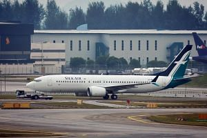 SilkAir has six B-737 Max planes in its fleet, and the airline has had to cancel or adjust some flights, affecting about 300 passengers a day. The CAAS has been communicating closely with Boeing and leading regulators on the safety issues of the airc