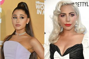 A list of four songs with offensive lyrics handed out in Parliament included pop hits like Ariana Grande's God Is A Woman and Lady Gaga's Judas.