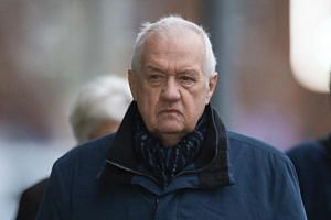Former police chief superintendent David Duckenfield arrives at Preston Crown Court, in north west England, on Jan 15, 2019.