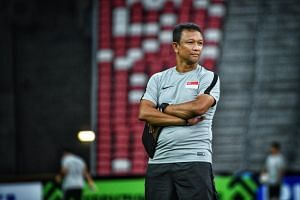 National Under-22 football coach Fandi Ahmad stressed his priority was to develop the current crop under him as they attempt to win Singapore's first SEA Games gold.