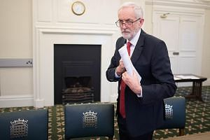 The talks between Mrs Theresa May and opposition leader Jeremy Corbyn (above) may not be about resolving the Brexit deadlock, but about managing the political fallout which is likely to come.