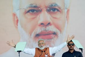 Opinion polls regularly show Indian Prime Minister Narendra Modi is India's most popular politician.