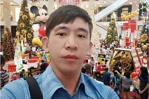 The motorcyclist, a 30-year-old salesman, was identified as Mr Tan Ming Jia by Shin Min Daily News.