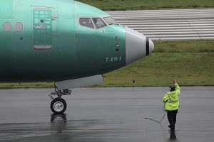 More than 300 Boeing 737 MAXs have been grounded worldwide after a total of 346 people died in a Lion Air crash in Indonesia in October and in an Ethiopian Airlines crash outside Addis Ababa last month.