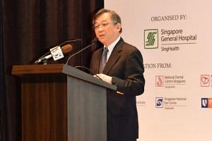 Health Minister Gan Kim Yong announced the launch of the SingHealth Duke-NUS Transplant Centre on April 12 during the 23rd SGH annual scientific meeting.