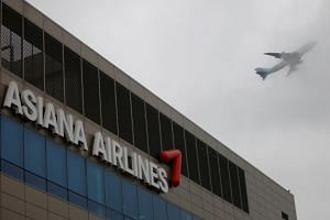 Asiana Airlines' parent company, Kumho Asiana Group, is struggling with liquidity crunch and massive debts.
