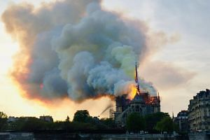 The fire at the Notre Dame Cathedral in Paris on April 15 prompted fund-raising appeals in the United States even before the flames were extinguished.