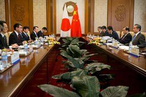 The economic dialogue between Japan and China had been interrupted until April last year, when such talks were resumed after a suspension of about eight years.