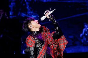 JJ Lin on his Sanctuary World Tour. JJ Lin's Little Big Us was No 1 in this year's U1000 Music Countdown Chart, followed by another of his song, Twilight, and Chinese singer Lu Hu's The Sound of Snow Falling, the closing theme song of Yanxi Palace.