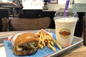 Besides the burgers and fries, the real standout are Fatburger's milkshakes.