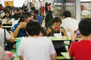 Experts say many Singaporeans do not eat enough healthy foods and consume too much sodium.