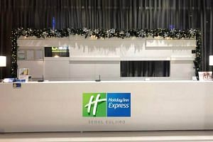 """Holiday Inn Express Euljiro hotel is also within walking distance to office and commercial buildings in the Euljiro business districts which Datapulse says is """"expected to develop further""""."""
