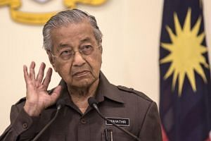 Malaysian Prime Minister Mahathir Mohamad's post came a day after a Parti Pribumi Bersatu Malaysia supreme council meeting, which decided that there would not be a reshuffle of the Johor state exco even after Datuk Dr Sahruddin Jamal was sworn in as
