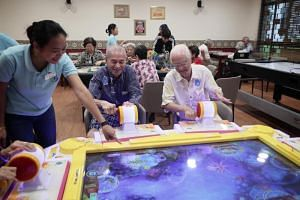 Gym for the elderly opens in Ang Mo Kio, Singapore News & Top