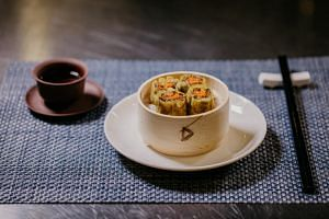 Shiok Meats' lab-grown shrimp dumplings contain a filling that was created using shrimp stem cells in a local lab.