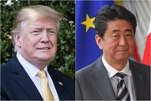 US President Donald Trump and Japanese Prime Minister Shinzo Abe have met on multiple occasions and have had dozens of phone calls.