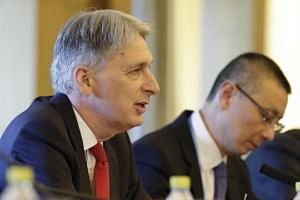 British Finance Minister Philip Hammond said the Belt and Road Initiative must work for everyone for it to turn into a sustainable reality and offered British expertise in project financing.