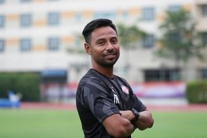 Home United's new interim coach Noh Rahman guided the Protectors to a polished 3-0 win over Geylang International, but the former national football stalwart said he hasn't had much time to bask in the maiden victory.