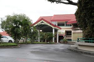 Eusoff Hall at NUS, where undergraduate Nicholas Lim took a video of Ms Monica Baey in the hostel shower.